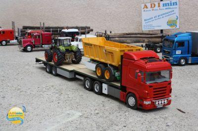 Le Scania porteur de Lilian
