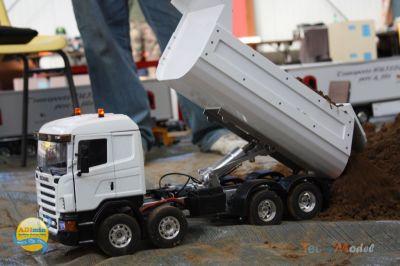 Scania 8x4 benne de Pat