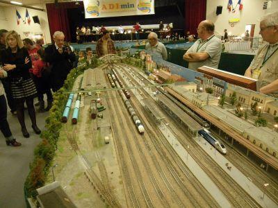 Réseau ferroviaire HO